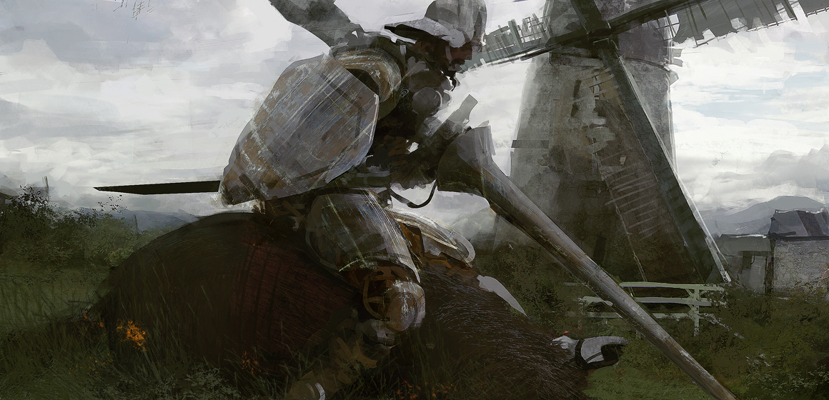 Art by:http://leventep.deviantart.com/art/Don-Quixote-134537223